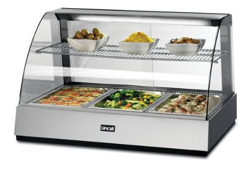 Glass Food Display Showcase Heated - Large